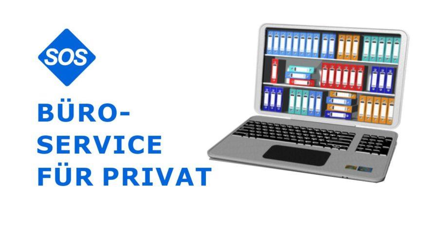 Bürodienste für Privat, Hilfe für Papierkram Privat | SOS Bürodienste für Privat