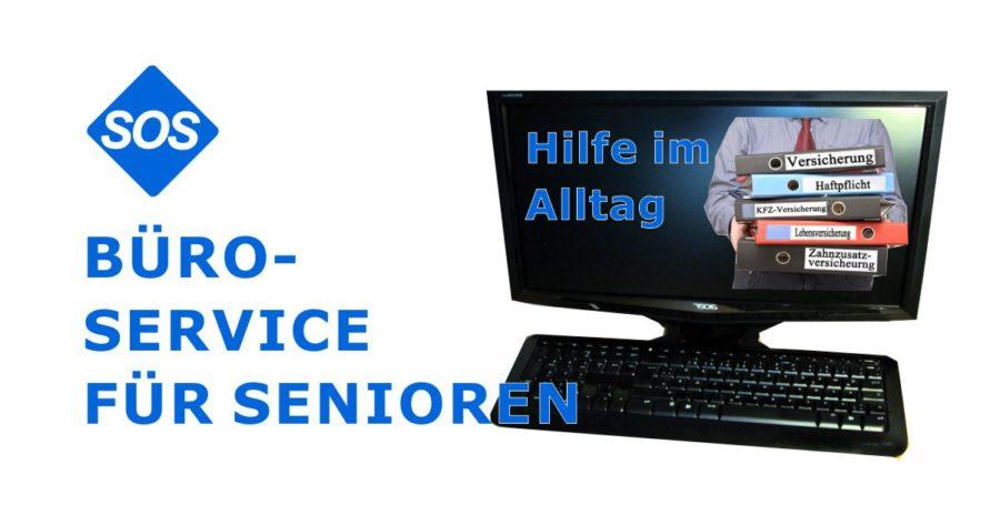 Bürodienste für Senioren Seniorenservice | Büroservice für Senioren
