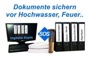 Digitale Kopie wichtiger Dokumente erstellen
