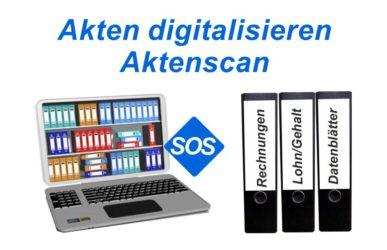 Akten digitalisieren lassen, Aktenscan