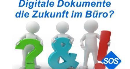 Digitale Belege - die Zukunft im Büro?