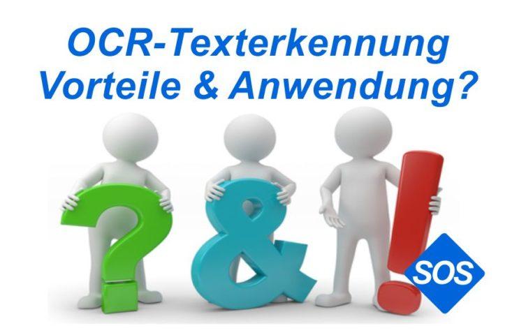 OCR Texterkennung bei digitalisierten Dokumenten