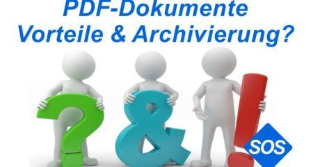PDF Dokumente erstellen und archivieren