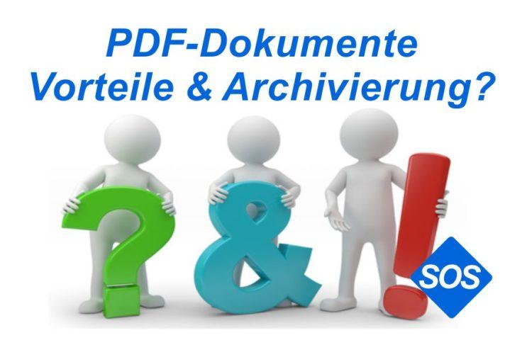 PDF Dokumente bearbeiten erstellen und archivieren