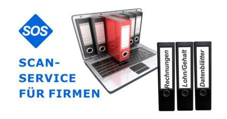 Scanservice für Firmen | Akten digitalisieren | Buchhaltung scannen