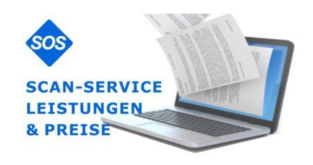 Preise Scanservice | Scandienstleistungen in Leipzig