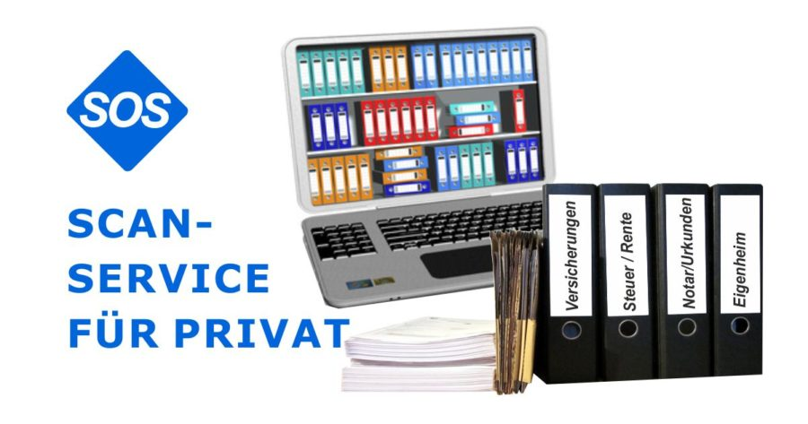 Scanservice Privat | Private Unterlagen scannen
